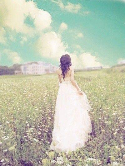 Gorgeous bride picture.