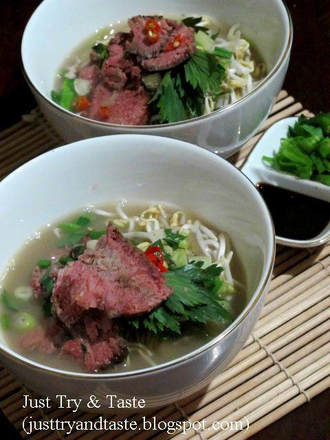 Just Try & Taste: Pho - Mie Kuah Sapi ala Vietnam