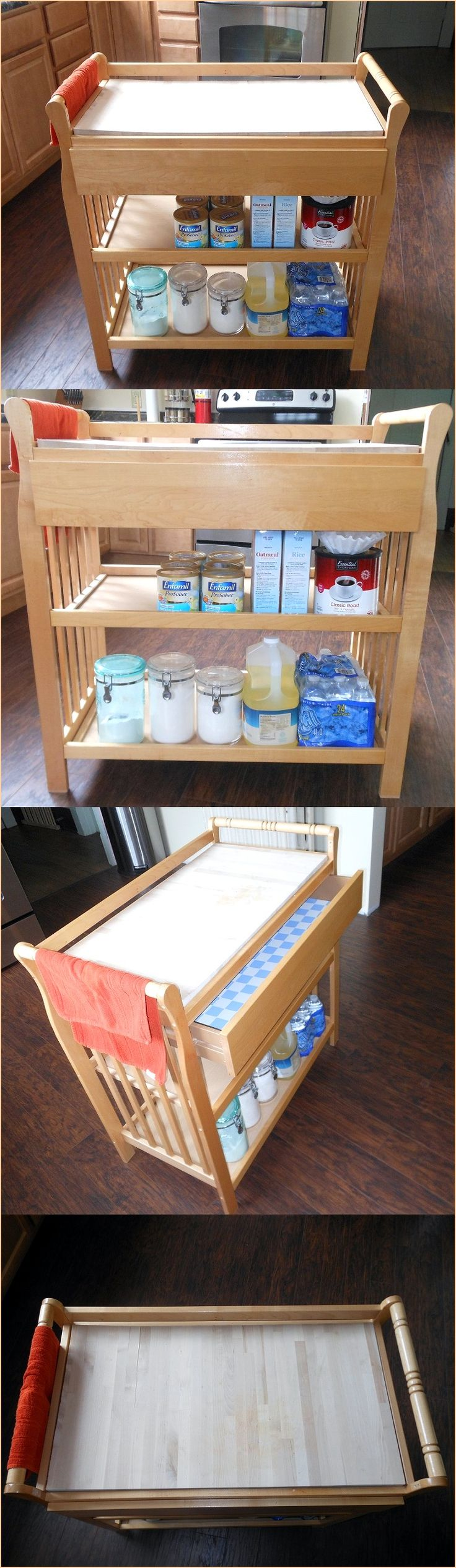 Pin by cori amelsberg on changing table upcycle pinterest for Diy cutting board storage