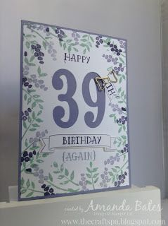 The Craft Spa - Stampin' Up! UK independent demonstrator : Number of Years Wisteria All Around...