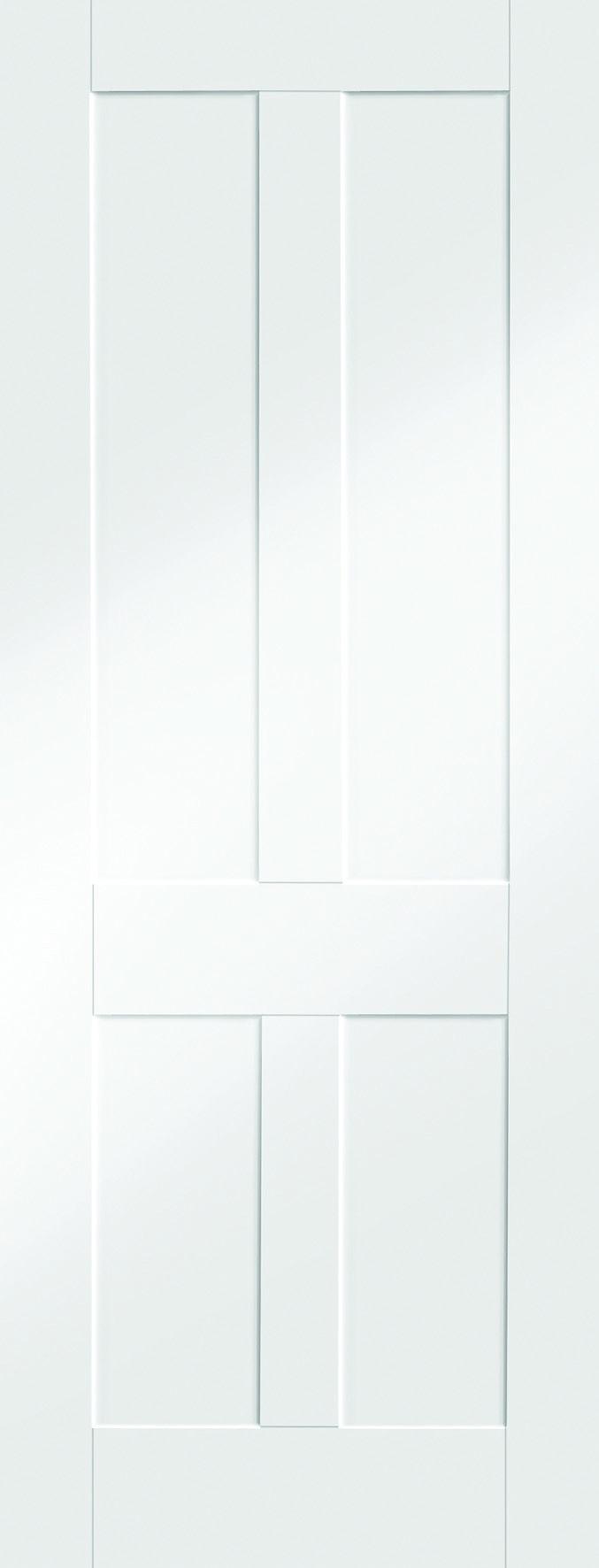 Internal Door Solid White Primed Victorian Shaker 4 Panel