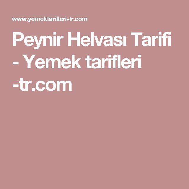Peynir Helvası Tarifi - Yemek tarifleri -tr.com