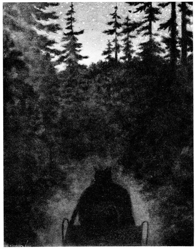 Theodor Kittelsen, Hjemover / Homewards, 1898, 90x69 cm: