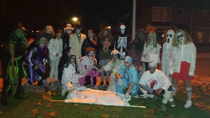 De eerste Halloween spooktocht van de K.V.W. Zevenhoven