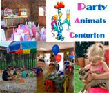 Party Animals Centurion is an exclusive venue hire for all occasions. The venue has large open grassed area with Jungle Gym, Trampoline, Scooters, Jumping Castle / Water Slide to keep the kids entertained. The Party Animals at the venue include: Blesbok, Alpaca, Emus, Ostrich, Horses, Cameroon Bucks, Chickens, Geese, Turkeys, Monkeys, Tortoises and a Bird Farm..... all form part of our unique party experience.