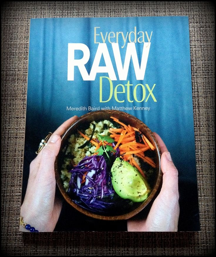29 best books images on pinterest books vegetarian recipes and clean pure very tasty recipes everyday raw detox by meredith baird raw food forumfinder Gallery
