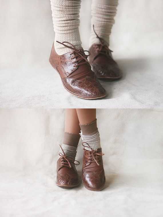 The Club  Women's Leather  Oxfords  CUSTOM by TheDrifterLeather, $120.00
