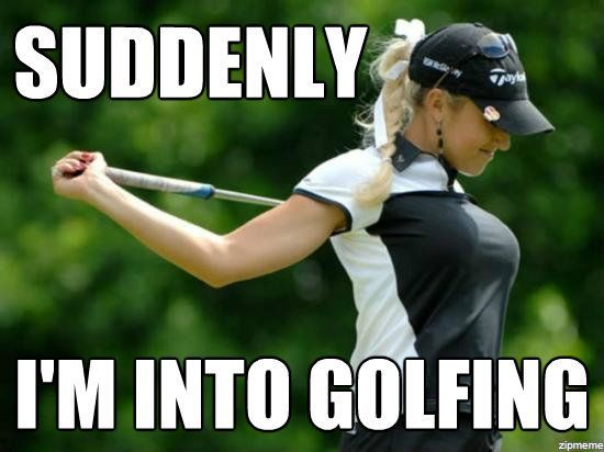 Image result for Golf's fault meme