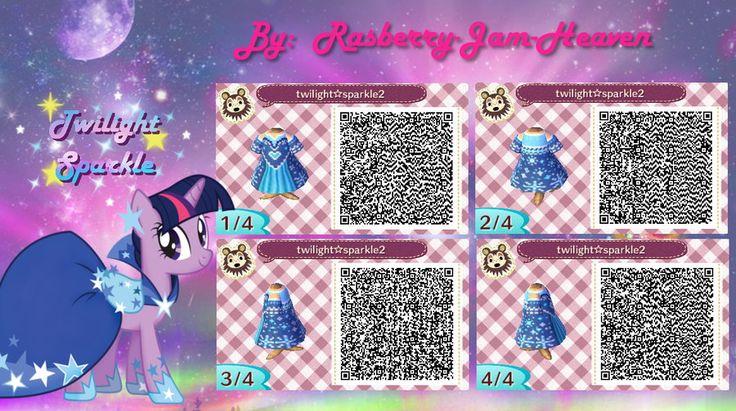 Animal Crossing QR code: Twilight Sparkle by Rasberry-Jam-Heaven.deviantart.com on @deviantART