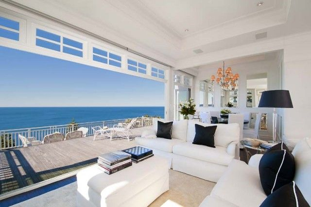 How to Style a Beach House in Black and White