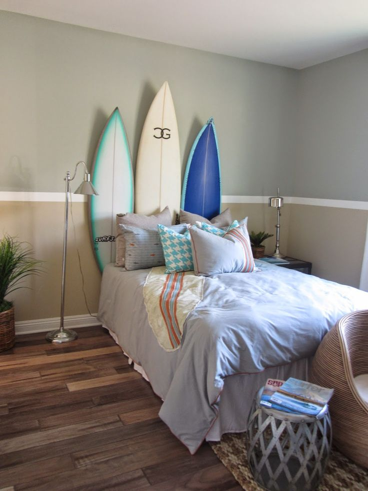 Best 10 surf bedroom ideas on pinterest surf room for Surfing bedroom designs