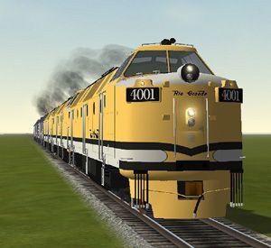 Rio Grande Krause Maffei Diesel Hydraulic Locomotives.