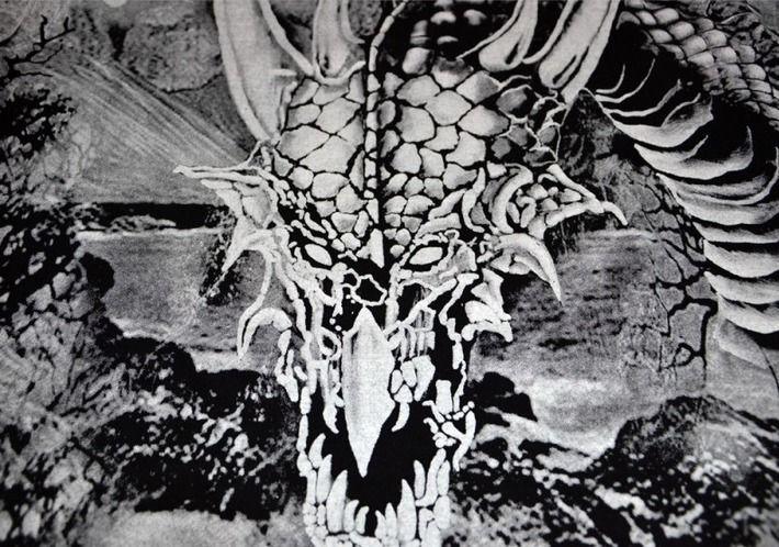 Motyw fighterski na koszulce 'Viking - Dragon' HD ---> Streetwear shop: odzież uliczna, kibicowska i patriotyczna / Przepnij Pina!