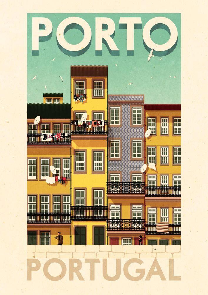 Rui Ricardo || Porto for Folio Art
