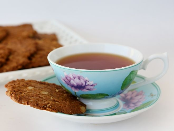 Golden Oat Crunches - these look really good for Australia Day - and a little bit healthy... mmm