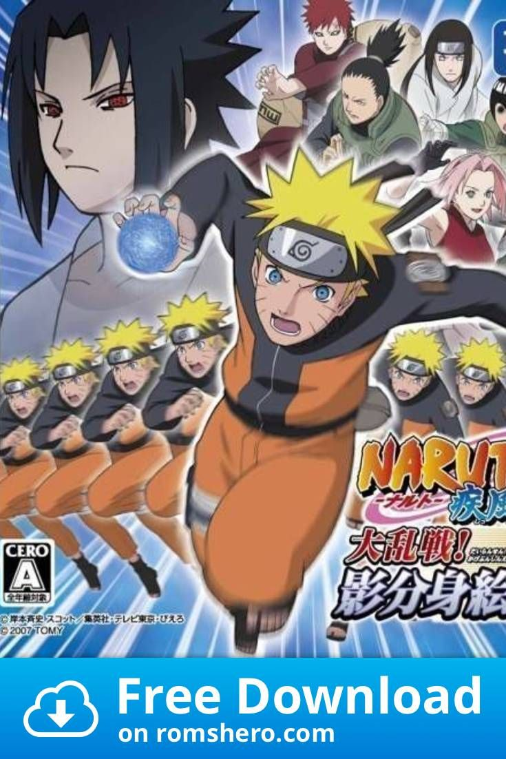 Download Naruto Shippuden Dairansen! Kage Bunsen Emaki