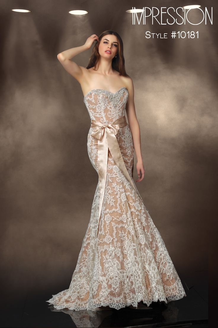 14 best impression bridal fall 2013 collection images on pinterest impression bridal wedding dress style 10181 available in ivory nude and champagne ombrellifo Gallery