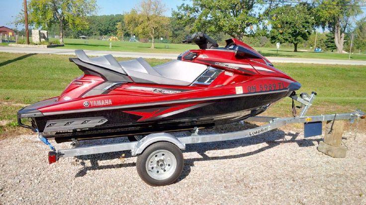 2014 Yamaha FX Cruiser HO Power Boat For Sale - SOLD