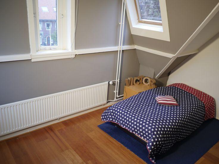 Plantsoenlaan 17, Bloemendaal. Third bedroom on the second floor.