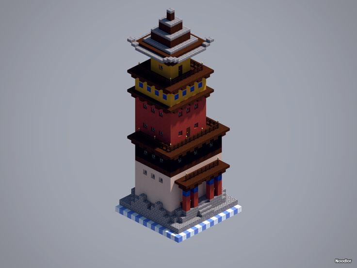 MCNoodlor: Asian - Monastery
