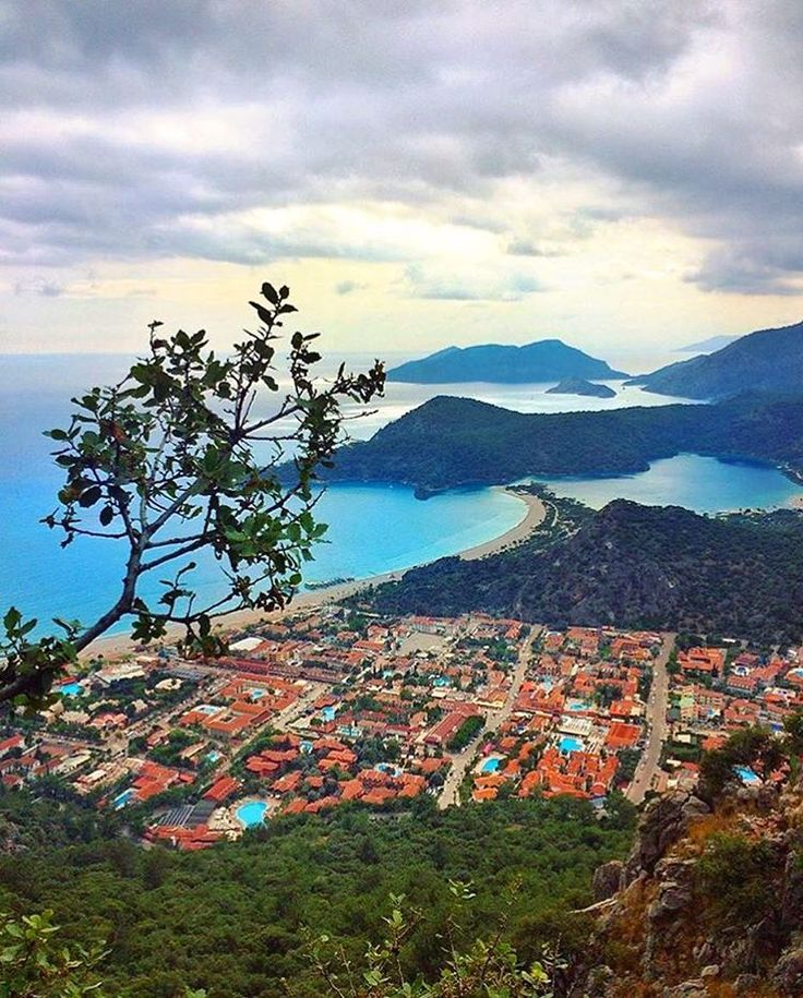 Shot of #Oludeniz Blue Lagoon from the Lycian Way