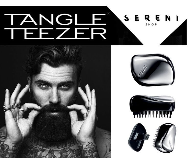 Tangle Teezer trae un cepillo inteligente pensado especialmente para él. El Men's Compact Groomer desenreda cabello y barba. #TangleTeezer #MenCompactGroomer