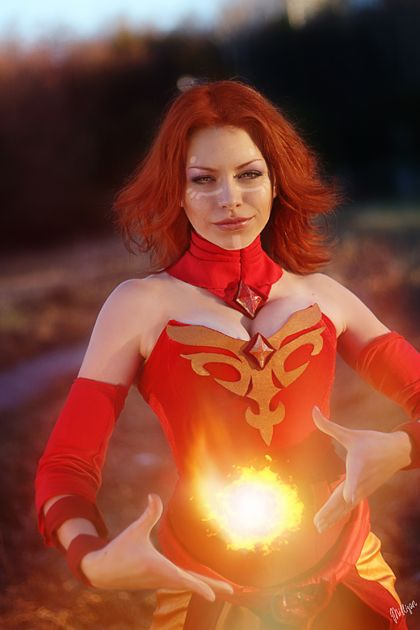 Dota 2 Lina - Play with fire by VictoriaF-W.deviantart.com on @deviantART