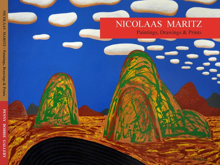 100 page full colour monograph featuring the art of Nicolaas Maritz
