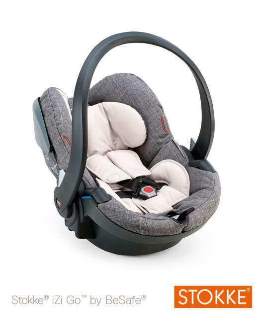 Stokke® Izi Go™ by BeSafe® - Black Melange. baby carrier