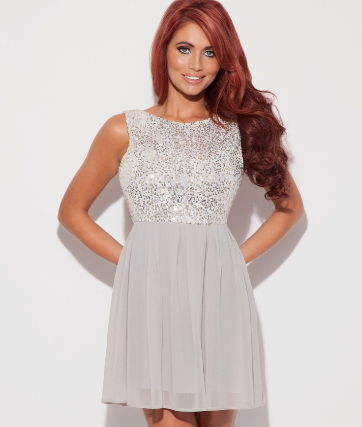Amy Childs Sequined Dress