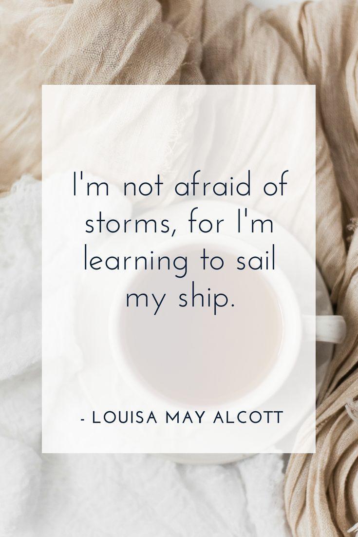 Motivational Quote For Girl Bosses By Louisa May Alcott Girlboss