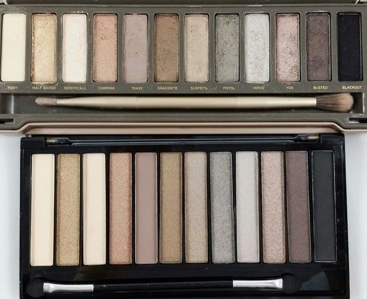 The Budget Beauty Blog: Revolution Makeup Iconic 2 Palette Swatches- Naked 2 Dupe!