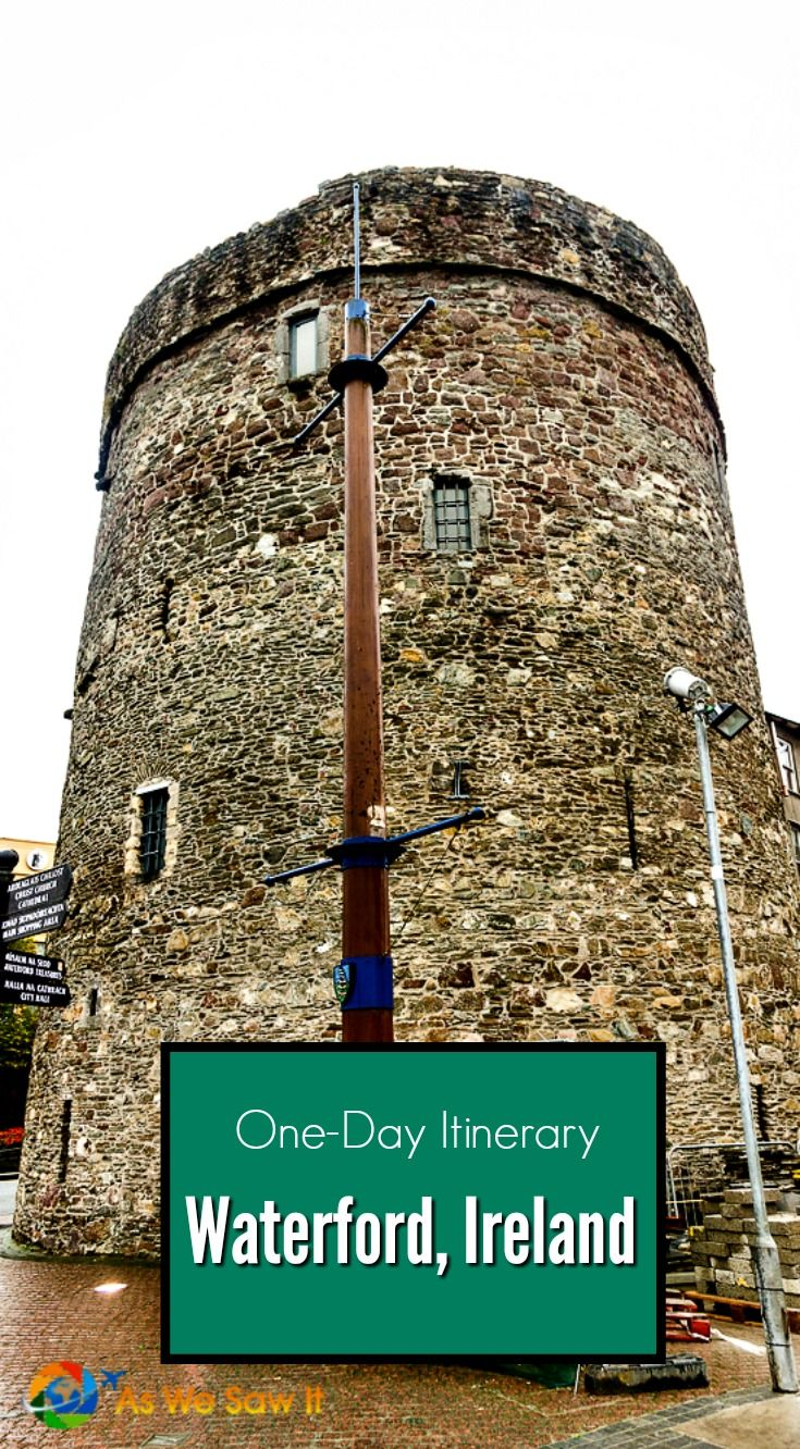 Ireland's national tourist bureau shows 2 visitors the highlights of Waterford Ireland in one day. Click this pin for the full itinerary.