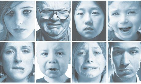 Why do humans cry? A new reading of the old sob story | We all cry, but what biological function does it serve, and why are humans the only species to shed tears of sorrow and joy?