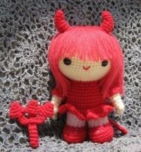 Free Amigurumi Witch crochet pattern for Halloween ~ Amigurumi crochet patterns ~ K and J Dolls