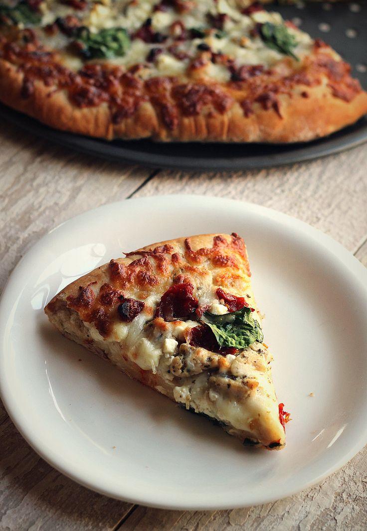 Herbed Chicken Mediterranean Pizza (Papa Murphy's Herb Chicken Mediterranean Delite Copycat Recipe)