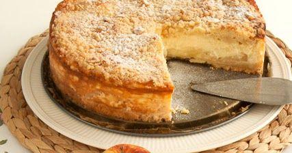 Ingrediënten voor de bodem:  - 250 g bloem  - 150 g suiker  - 2 zakjes vanille suiker  - 100 g hazelnoten (gemalen)  - snuf zout  - 175 g...