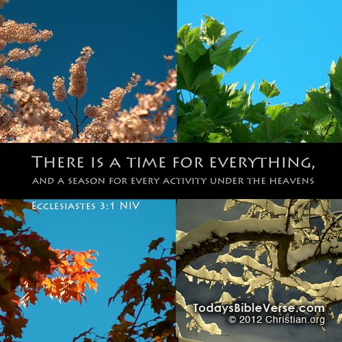 u0026quot to every thing there is a season  and a time to every