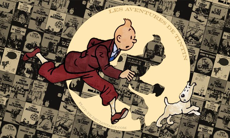 Tintin wall 3 by flot-yk on DeviantArt