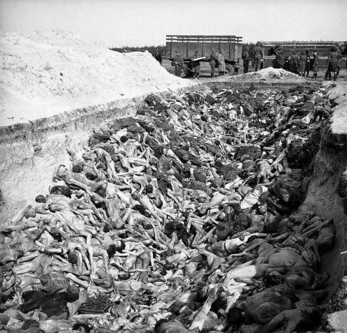 Foto na História: A DESUMANIDADE NAZISTA EM BERGEN-BELSEN I