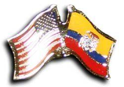Ecuador   Friendship Lapel Pins By Flagline.com. $2.25. Friendship Lapel Pin  (