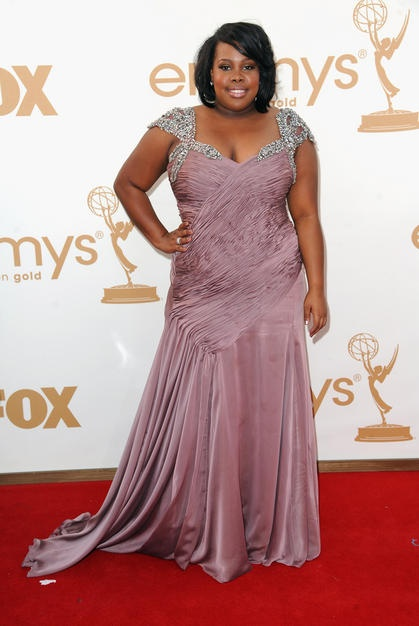 Amber Riley at the Emmys