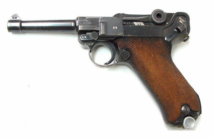 Mauser P08 9 MM Luger