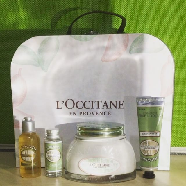 Thank you so much #LOccitaneID for sending us their Almond Bodycare Products. With delicious scent smooth textures rich and pressed almond extract this collections is ready to makes our skin to become firm and soft. Natural power indeed! #ellebeauty #loccitane #almond  via ELLE INDONESIA MAGAZINE OFFICIAL INSTAGRAM - Fashion Campaigns  Haute Couture  Advertising  Editorial Photography  Magazine Cover Designs  Supermodels  Runway Models