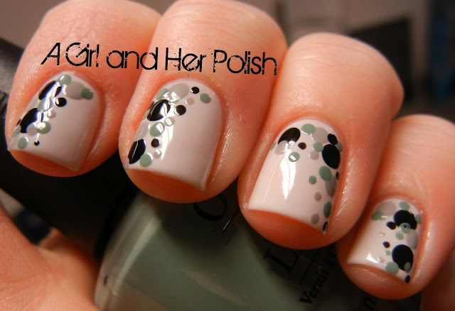A Girl and Her Polish: Dotting: Amazing, Polka Dots, Nails Art, Nails Design, Girls Generation, Cute Ideas, Army Girlfriends Nails, Freakin, Dots Nails