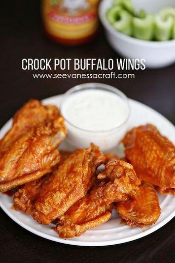 Easy Crock Pot Buffalo Wings