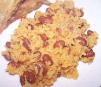 Yellow Rice and Pink Beans Recipe