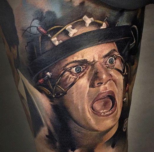 1008 best tattoos pop culture 1 images on pinterest for Clockwork orange tattoo