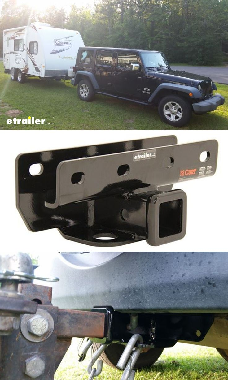 You take your jeep wrangler everywhere tow the camper to keep the travel adventure going