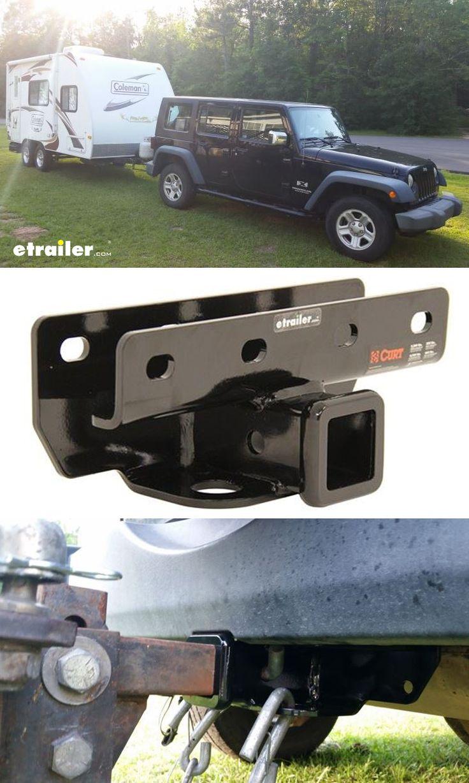 Curt trailer hitch receiver custom fit class iii 2 curt trailer hitch 9883544